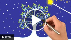 Voeux-électroniques-professionnels-animés-modèle-arbre-poésie-videostorytelling