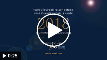 PELLEN CONSEIL – vidéo vœux pour le lancement du nouveau logo