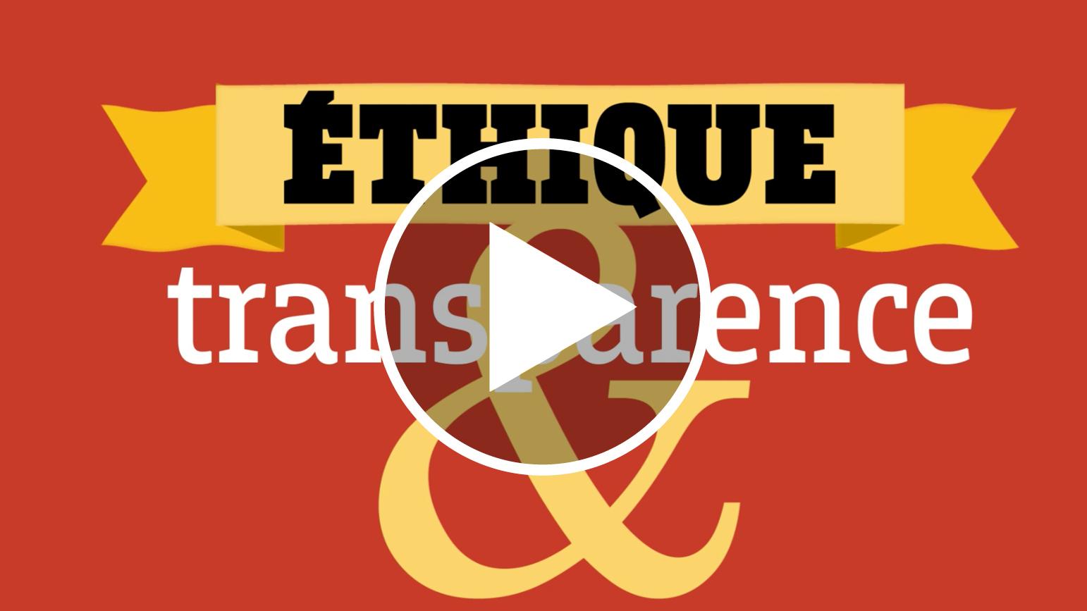 17 - Éthique et transparence