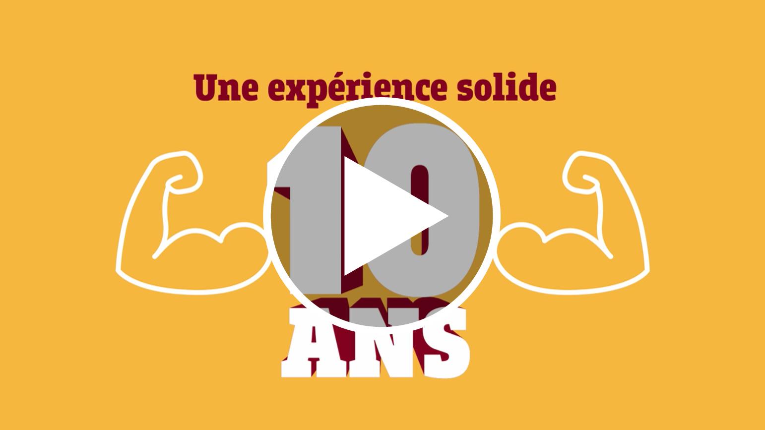 1- Une solide expérience