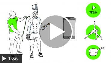 Custom Coaching – vidéo pour promouvoir une application mobile