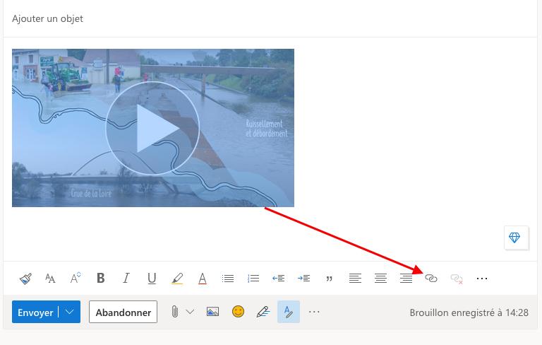 ajouter-lien-outlook-web-carte-voeux-digitale-dans-message-mail-videostorytelling
